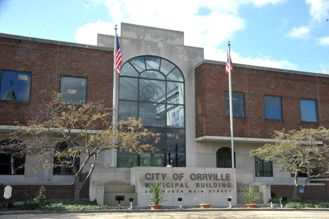 Renovations to the entryway of Orrville City Hall will require visitors to speak with a receptionist first before entering into the building.