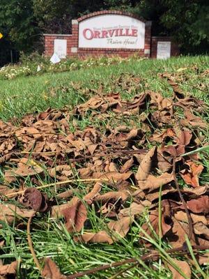 Orrville will begin its city-wide leaf pick-up in November.
