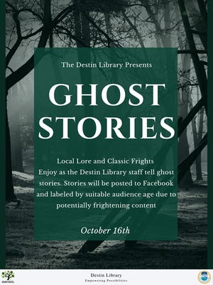 Ghost stories with Library.