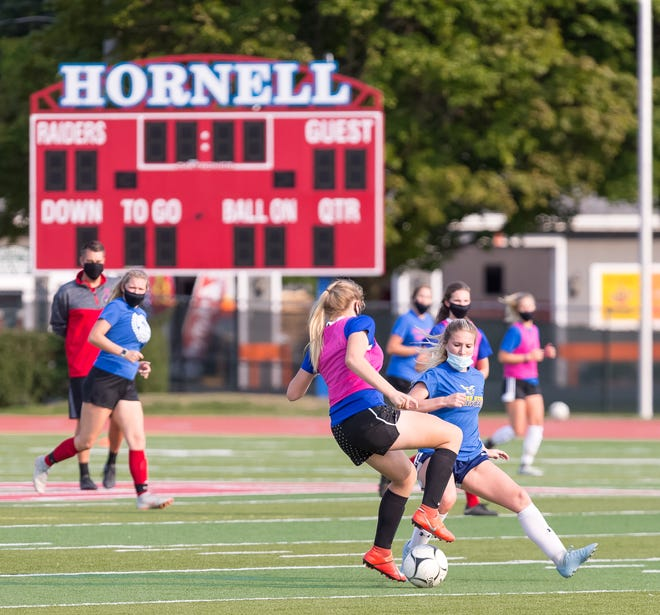The Lady Red Raiders are the four-time defending Livingston County champions, but Hornell's journey through the league will look much different in 2020 than it has over the past four seasons, starting with the masks.