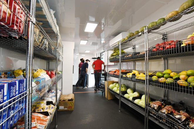 Feeding Northeast Florida's new mobile food pantry is one example of the nonprofits' community support during the pandemic.  A local philanthropy has created a relief fund to help nonprofits recoup some pandemic-related expenses.