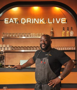 """Eat, Drink, Live"" is a motto of celebrity Chef Kenny Gilbert, who's announced plans to open a new restaurant in the historic Springfield neighborhood."