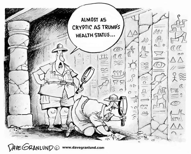 An editorial cartoon by Dave Granlund