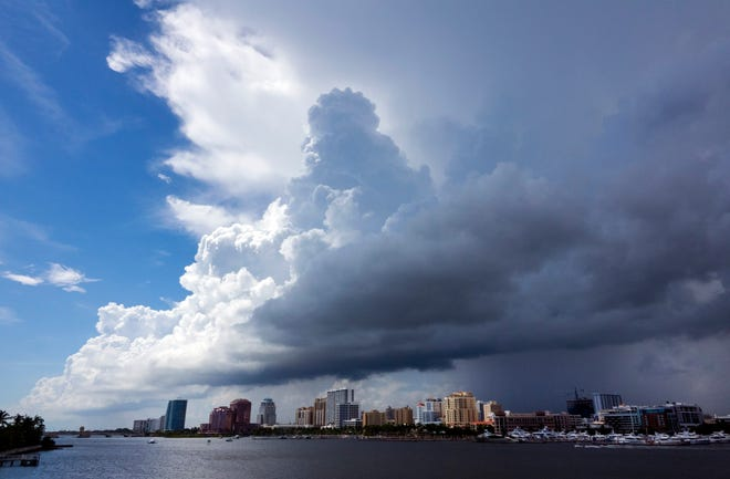 Preliminary rainfall measurements show all of southeast Florida's official weather stations ended the rainy season as one of the top 10 wettest on record.
