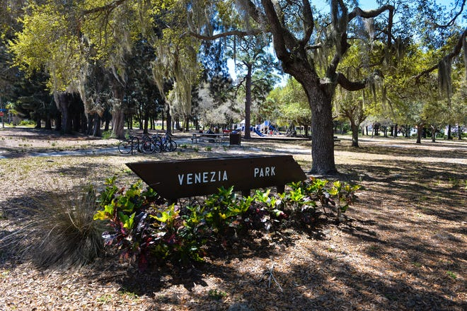 Venezia Park is part of the John Nolen plan for Venice. City officials are soliciting resident input on improvements for the park. Residents can weigh in at an Oct. 15 Zoom meeting and through an online survey.
