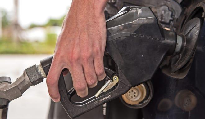 Pumping gas in Sarasota in 2015.