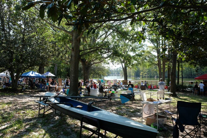 Cape Fear River Watch presents LakeFest, the annual celebration of the history, plants, animals, and water quality of Greenfield Lake in Wilmington, N.C., September 28, 2019.