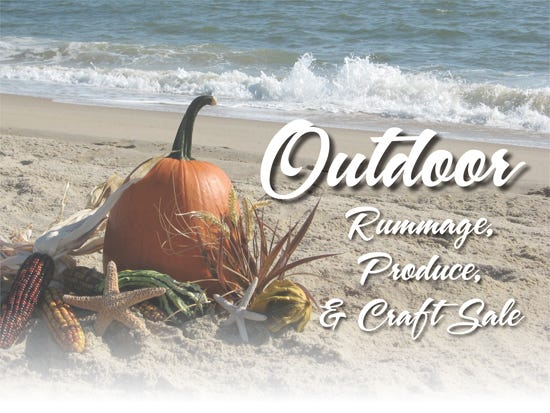 New for 2020, the Rehoboth Beach – Dewey Beach Chamber of Commerce will host the annual Outdoor Rummage, Produce & Craft Sale from 10 a.m. to 2:30 p.m. Oct. 10 in the parking lot of Jungle Jim's, 36944 Country Club Road, Rehoboth Beach.