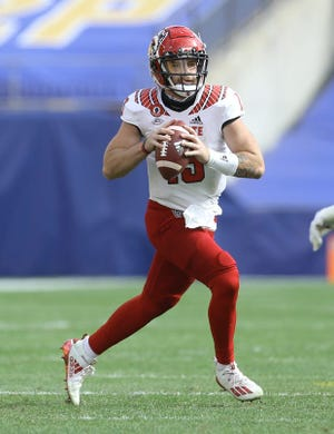 N.C. State quarterback Devin Leary threw for four touchdowns in his first start of the year in last Saturday's upset of No. 24 Pittsburgh. (Atlantic Coast Conference)