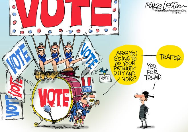 Vote - if you're voting my way