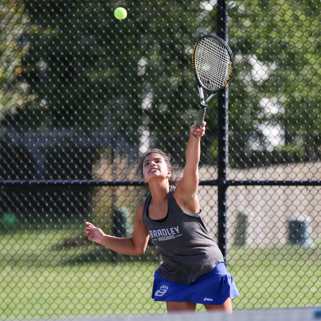 Senior Reyann Askar and junior Madison Kennedy are seeded fourth for the Division I sectional at Hilliard Davidson, which begins Thursday, Oct. 10.