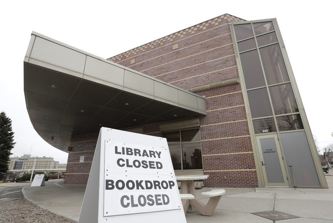 The Neenah Public Library is closed to the public until further notice because of a spike of COVID-19 cases in the community.