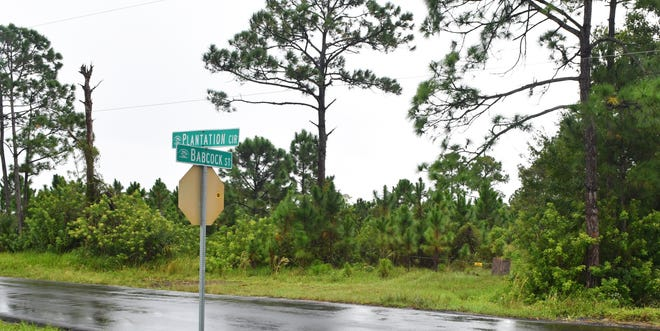 Developer Brian West, who faces bribery charges, has fought to rezone his land at the southeast corner of Babcock Street and Plantation Circle in Palm Bay.