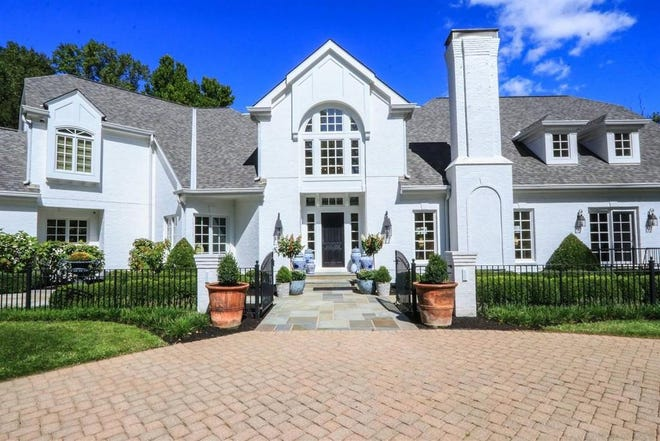 This 7,000-square-foot estate in the exclusive Coldstream neighborhood of Anderson Township recently hit the market for $3,000,000