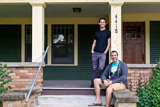 Roboflow founders Joseph Nelson, left, and Brad Dwyer