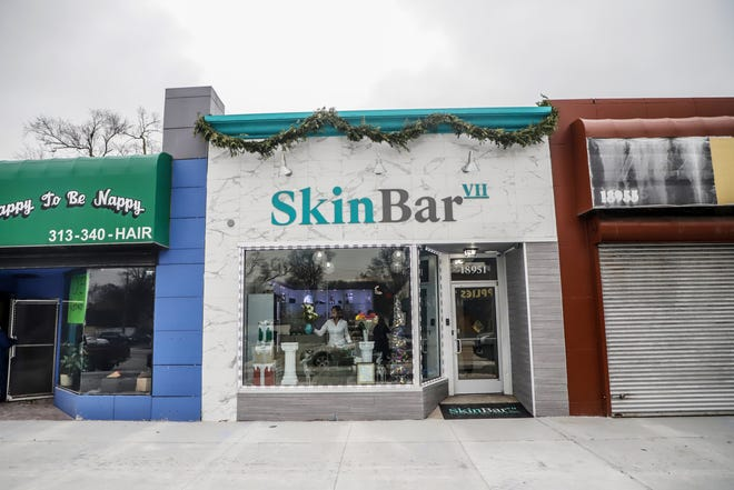 Skin Bar VII, a small business in Detroit's Avenue of Fashion just opened in late 2019. The business focuses on facials, treatments, massages and waxing, so it had to close during the beginning of the US coronavirus outbreak.
