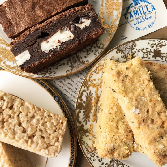 Camilla Kitchen will serve a menu of baked goods inspired by literature and cookbooks that fill shelves at M. Judson Booksellers.