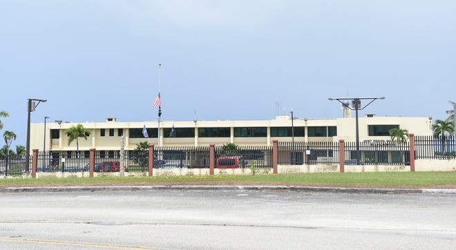The Joint Region Marianas headquarters on Nimitz Hill, Oct. 5, 2020.