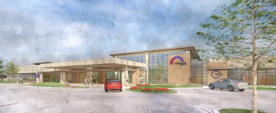 Plans are in the works for a new Covenant Health facility to be built off Chapman Highway and Mountain Grove Drive in South Knoxville, the organization announced Monday, Oct. 5, 2020. The facility will be over 36,000 square feet and will include urgent care, primary care and physical rehabilitation services.