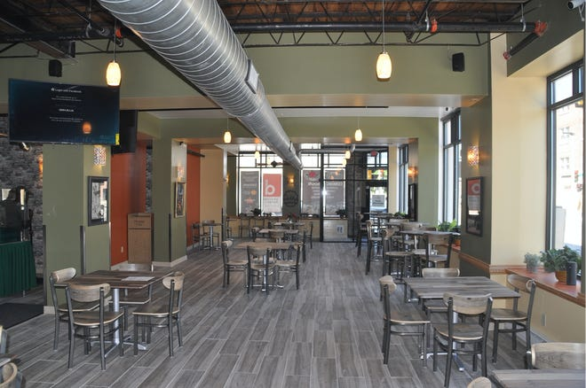 Daddy's Soul Food & Grille, 754 N. 27th St., recently doubled its space, leaving ample room for distancing during the pandemic. The contemporary dining room is decorated in warm greens, oranges and yellows.
