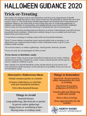 North Shore Health Department Halloween guidance