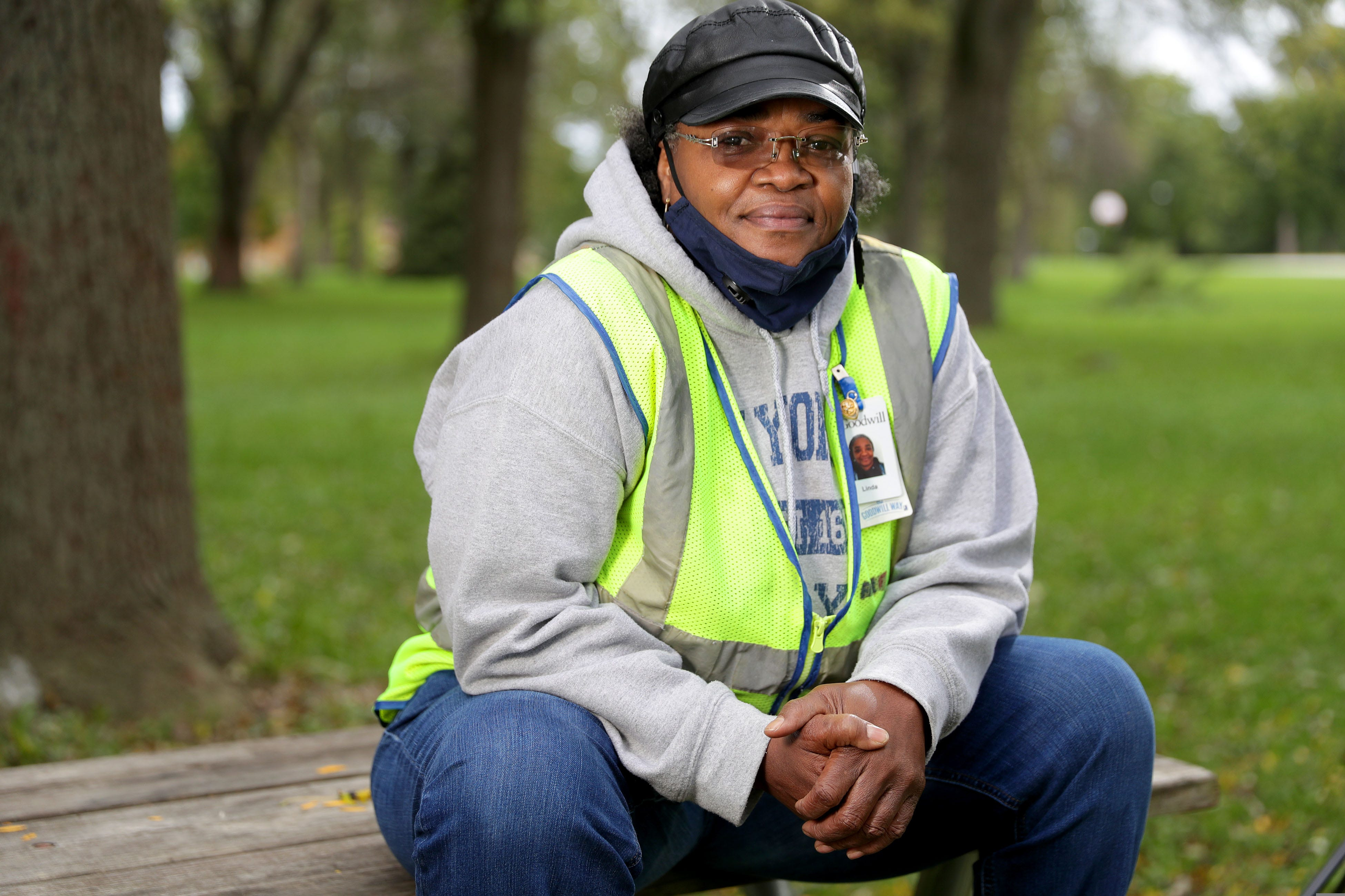 Linda Carter-Brooks works two jobs. She is personal care worker and she delivers Meals on Wheels for Goodwill. Carter-Brooks is one of many women pushing through the pandemic but also taking on the brunt of it with low wages and jobs that put them at risk.