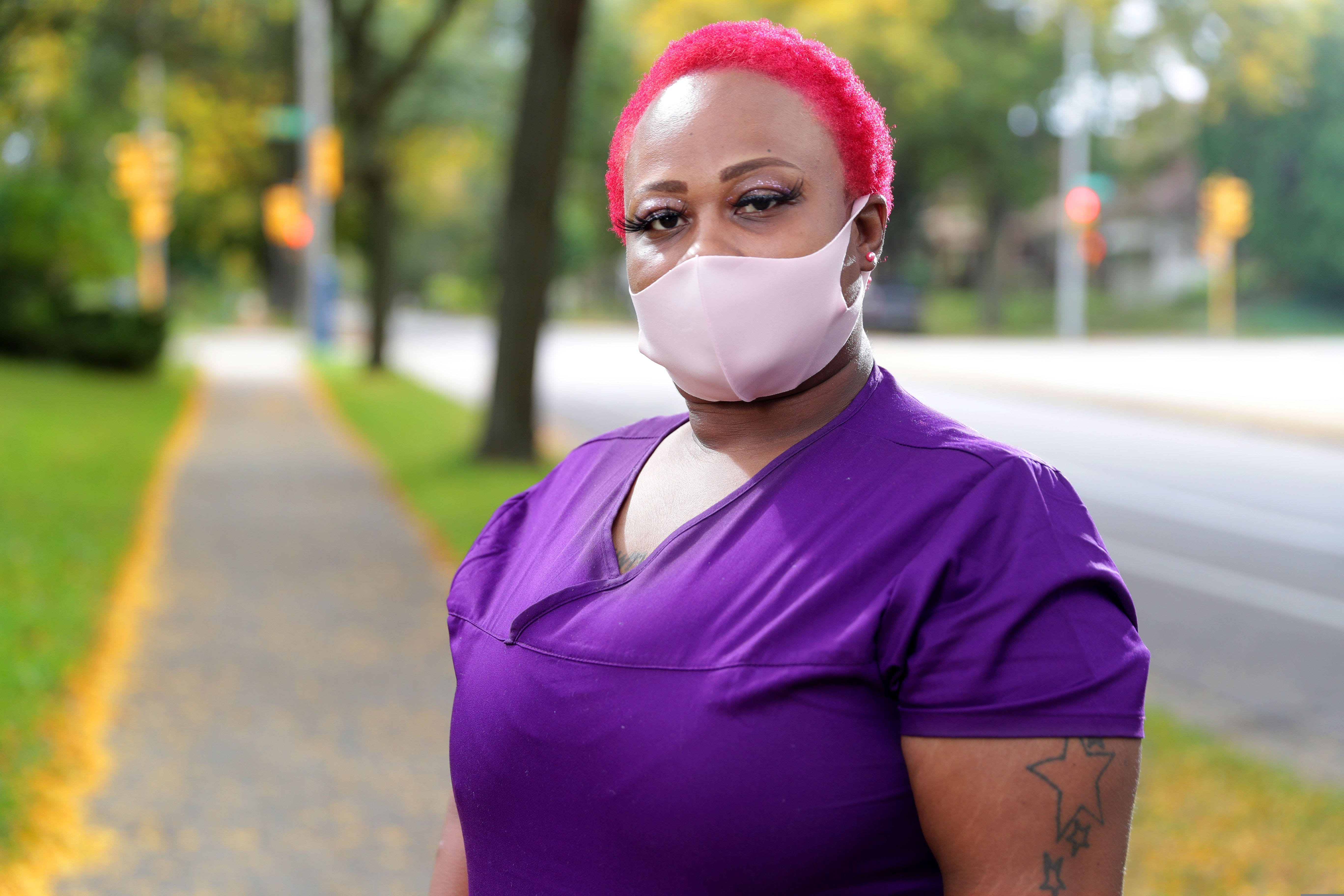 Charlene Bentley, a 37-year-old health care worker, works two jobs and has legal custody of her 7-year-old nephew. She is one of many women who are taking the brunt of the pandemic.