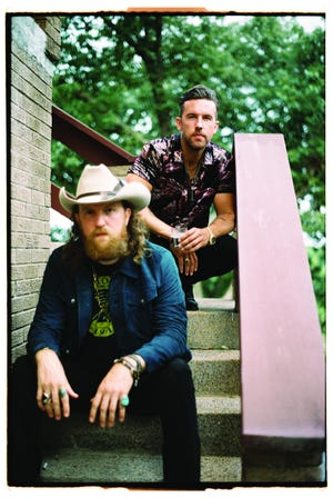 Country duo Brothers Osborne consists of brothers John Osborne (left) and T.J. Osborne (right)