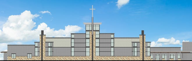 A rendering of the First Baptist Church Mt. Juliet expansion plan.
