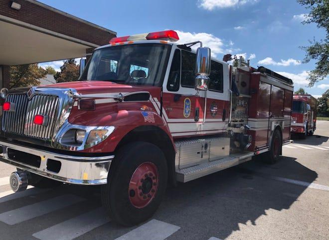 Nashville Fire Department engine