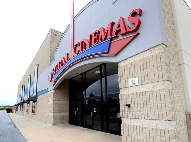The Regal West Manchester in West Manchester TownCenter, Monday, Oct. 5, 2020, will temporarily close along with over 500 Regal Cinemas in the U.S. Bill Kalina photo