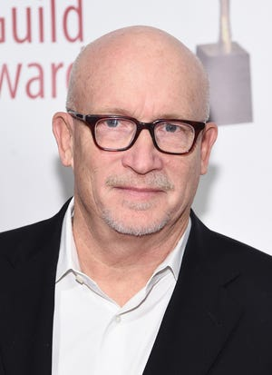 "Alex Gibney attends the 72nd Writers Guild Awards last February in New York City. Gibney recently released the first trailer for ""Totally Under Control,"" his latest film, which examines President Donald Trump's response to the COVID-19 pandemic."