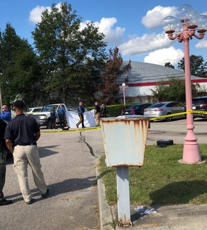 Vineland Police are investigating an incident at a South Delsea Drive shopping center parking lot that left one person dead.