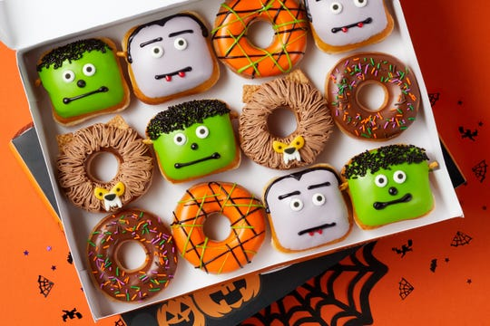Wear a costume on Halloween to Krispy Kreme and get a free doughnut.