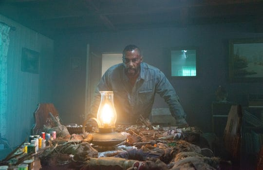 """Omari Hardwick stars as a man who wakes up after a plane crash and realizes he's the subject of some serious Hoodoo in """"Spell."""""""