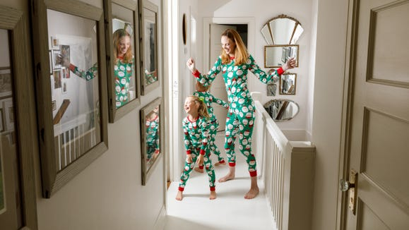 Gifts for 1 year olds: Carter's matching holiday pajamas