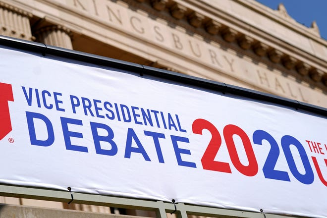 The vice presidential debate is scheduled for Oct. 8, 2020, in Salt Lake City.