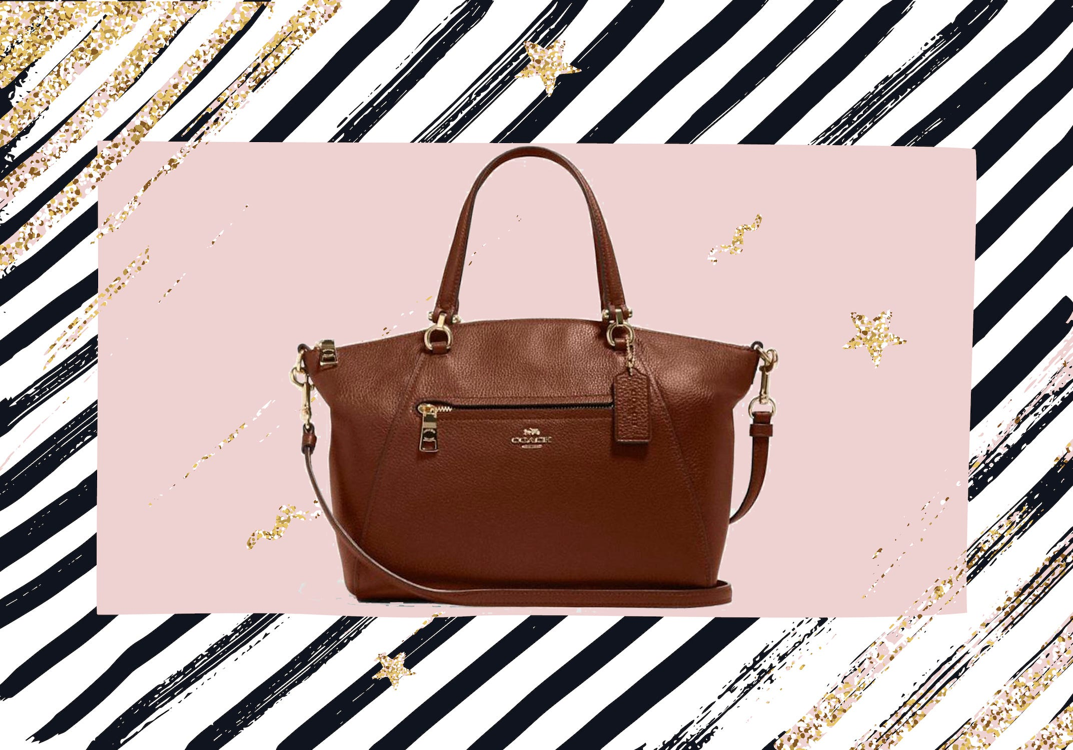 You can get Coach totes and satchels for more than half off right now