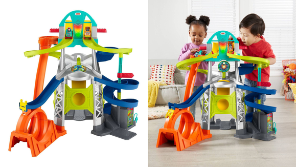 Best gifts and toys for 2-year-olds: Little People Launch and Loop Raceway