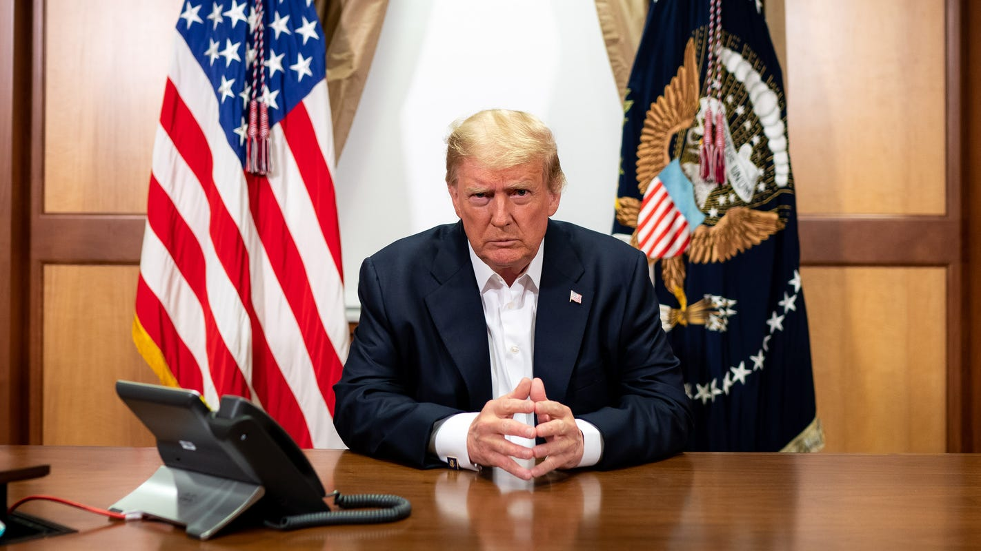 Live updates on Donald Trump and COVID-19: Joe Biden, Mike Pence test negative; White House releases photos; William Barr in self-quarantine