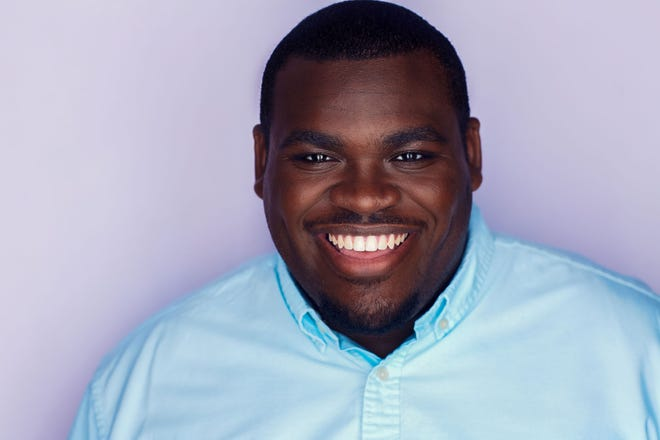 """Copley resident Marcus Martin, a 2020 Baldwin Wallace graduate, plays Raddai in the new musical """"Sticks & Stones,"""" whose benefit concert version will stream Oct. 16 on broadwayworld.com and broadwaycares.org."""