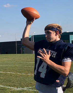Senior quarterback Mike Sylvester and Council Rock North started its season with a 40-6 victory on Friday.