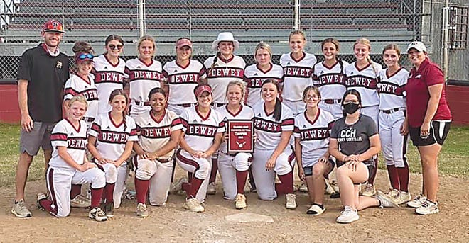 The Dewey High School softball team, led by coach Niki Keck, is one of the top teams in the state with a 25-3 record and hopes for a return trip to the state tournament ahead.