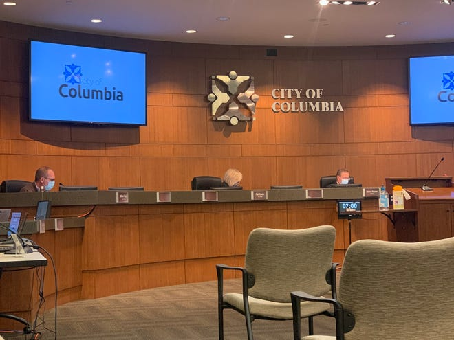 The Columbia City Council meets on Monday.