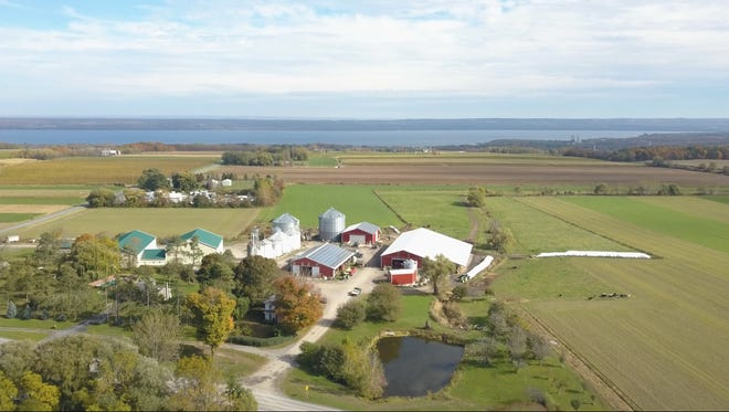 The Martens farm on Ridge Road in the town of Torrey is part of a new documentary on climate change and organic farming.