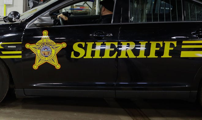 A Franklin County Sheriff's Office cruiser