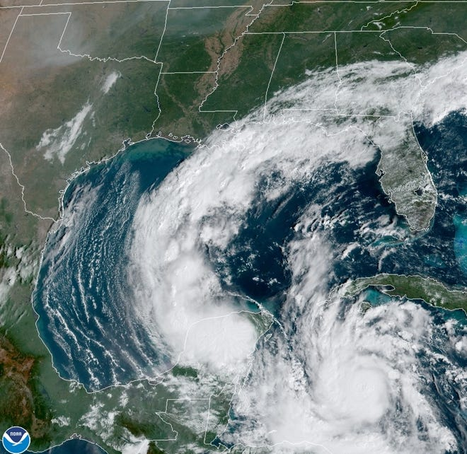 From the National Hurricane Center.