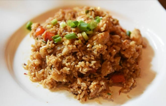 Fried rice is an easy, delicious dish for first-time cooks to make.
