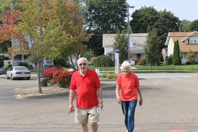 Wayne and Phyllis Kornhaus, of Green Township, participated in the virtual Wayne Heart Walk on Sept. 24 as part of the Aultman Orrville Hospital's team.