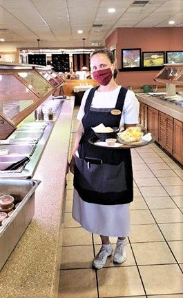 Restaurants made some of the biggest changes due to the COVID-19 pandemic. Employees had to wear masks and tables had to be socially distanced.
